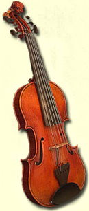 Picture of a Custom Violin